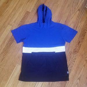 Vintage South Pole Short Sleeve Hoodie Tee Shirt